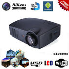 7000 Lumens Wifi 1080P HD LCD Android Projector Office Home Theater HDMI Media