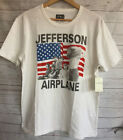 Lucky Brand Men's Jefferson Airplane Graphic tee White NWT