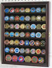 Display Case Cabinet for Golf Poker Chips, Challenge Coins.