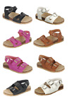 Внешний вид - Baby Toddler Girls  Double -Strap Cork-Bed Open Toe Sandals Summer Beach Shoes