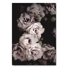 Pink Rose Flower Canvas Nordic Poster Retro Wall Art Print Modern Home Decor
