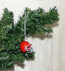 -CLEVELAND  BROWNS - CHRISTMAS ORNAMENTS $7.13 USD on eBay