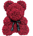 USA Love Teddy Bear Rose Box Foam Flower Wedding Birthday Valentine&#039;s Day Gifts <br/> High Quality-Easy Return-Free Shipping-3~7 Days-US