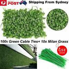 Artificial Boxwood Panels Hedge Plant Wall Fence Mats Wedding Garden Dec 40x60cm