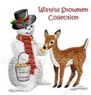 Kyпить WISTFUL SNOWMEN COLLECTION - MACHINE EMBROIDERY DESIGNS ON CD OR USB на еВаy.соm