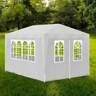 Outdoor Partytent Garden Gazebo Marquee Canopy Party Wedding 4,6,9 M Blue,White