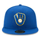 Milwaukee Brewers MIW MLB Authentic New Era 59FIFTY Fitted Cap - 5950 Hat