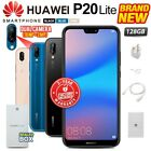 New&sealed Factory Unlocked Huawei P20 Lite Black Blue Pink 128gb Android Phone