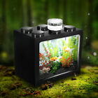Внешний вид - 🔥 Mini Clear LED Fish Tank Goldfish Betta Ornament Desktop Aquarium Table Decor