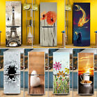 New 3d Wall Art Sticker Pvc Decal Self Adhesive Door Fridge Wrap Mural 60x150cm