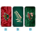 Minnesota Wild Leather Case For Samsung Galaxy S10 Plus Lite S10e S9 S8 $8.99 USD on eBay