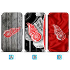 Detroit Red Wings Leather Case For Samsung Galaxy S10 Plus Lite S10e S9 S8 $7.99 USD on eBay