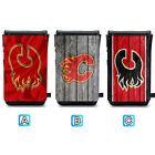 Calgary Flames Leather Phone Case Pouch Strap For iPhone Samsung $10.99 USD on eBay