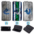 Vancouver Canucks Leather Long Wallet Purse Zip Women Handbag $16.99 USD on eBay