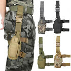 Adjustable Tactical Pistol/Gun Drop Leg Thigh Holster Mag Pouch Right  Hand US