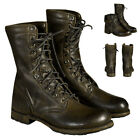 Men's Lace Up Boots Motorcycle Punk Combat Military Cowboy Sports Shoes