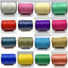 10yds 1.5mm Waxed Cotton Cord Waxed Thread Cord String Strap Rope Jewelry Making