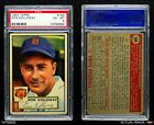 1952 Topps #104 Don Kolloway Tigers PSA 6 - EX/MT