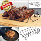 Iron Rib Rack Traeger Grill Barbecue BBQ Accessories Multi purpose Outdoor