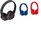 Authentic Beats Solo2 On-Ear Wired Headphones Pick Your Color Black Red Blue $39.95 USD on eBay