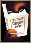 Decor Poster.Home interior design.Room decoration.Morand Champions Monde 6938