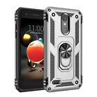 For LG Aristo 2/Phoenix 4/Tribute Dynasty/Fortune 2 Shockproof Rugged Dual Case
