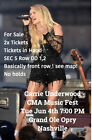 CMA Music Fest Tickets - Grand Ole Opry - Carrie Underwood 6/4/19