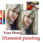 Внешний вид - 30-100CM Photo Custom 5D Diamond Painting Full Drill DIY Embroidery Cross Stitch