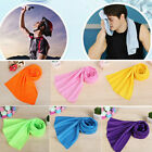 Hot Ice Cold Sports Yoga Gym Instant Cooling Towel Chilly Pad Enduring Jogging image