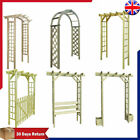 Garden Pergola Arbour Rose Arch Climbing Plants Flower Archway Impregnated Wood