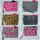 """NWT Simply Southern Phone Wristlet Case Wallet 7.25"""" X 5"""" Paisley Roses Bee + image"""