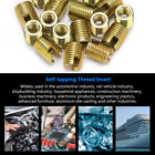 20 Pcs 302 Stainless Steel Durable Self-tapping Thread Insert Repair Accessories