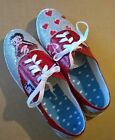 Womens Betty Boop   Shoes. Sizes 6-10 $36.0 USD on eBay