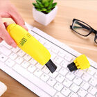 Mini Vacuum Cleaner Durable Keyboard Cleaner Desk Appliance Monitor Cleaning 1PC photo