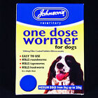 JOHNSONS SIZE 2 DOG ONE DOSE WORMER ROUNDWORM & TAPEWORM WORMING TABLETS - RSPCA