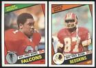 BUY 1, GET 1 FREE - 1984 TOPPS FOOTBALL - YOU PICK NUMBERS #201 - #396 - NMMT $1.0 USD on eBay