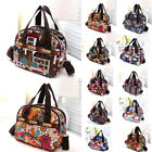 Women's Satchel Shoulder Bag Tote Messenger Cross Body Waterproof Canvas Handbag image