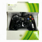 Genuine Wired Microsoft Xbox 360 Gaming Game Controller Green Box
