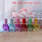1X Colorful Glass Perfume Bottles Refillable Travel Spray Fragrance Empty Bottle