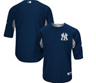 NY Yankees Majestic Authentic Collection On-Field Batting Practice Jersey on Ebay