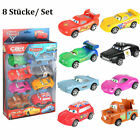 8x Mattel Disney Pixar Cars Friends of Radiator Springs 1 Spielzeug Autos 1:55