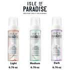ISLE OF PARADISE Glow Clear, Color Correcting Self-Tanning Mousse, Choose Color