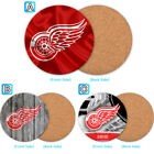 Detroit Red Wings Wood Coffee Coaster Cup Mug Mat Pad Table Decor $3.49 USD on eBay
