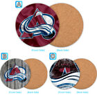 Colorado Avalanche Wood Coaster Cup Mat Coffee Drink Mug Pad $3.99 USD on eBay