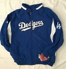 New Majestic Los Angeles Dodgers Thermabase Blue Jacket Size 6XL on Ebay
