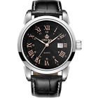 Orkina Luxury Sport Automatic Mechanical Leather band Calender Men's Wrist WatchWristwatches - 31387