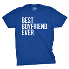 Best Boyfriend Ever T Shirt Funny Dating Shirt I Love my Boyfriend Tee (Blue) - image