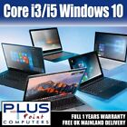 Fast Intel Core I3/ I5 Windows 10 Laptop Huge 500gb Sata Hd 4gb Ddr3 Ram Bargain