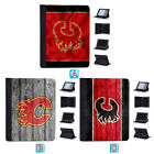 Calgary Flames Flip Case For iPad Mini 1 2 3 4 Air 5 6 Pro 9.7 10.5 12.9 $18.99 USD on eBay