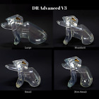 DR Advanced V3 Resin Nub Male Chastity Cage Device 3 Colours 5 Sizes UK Seller